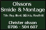 Olssons Smide & Montage